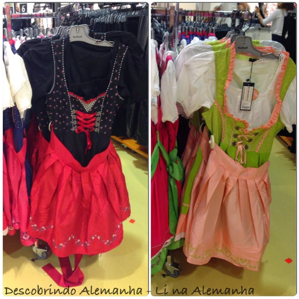 Populares Roupa Tradicional Alemã - a roupa usada na Oktoberfest GZ89
