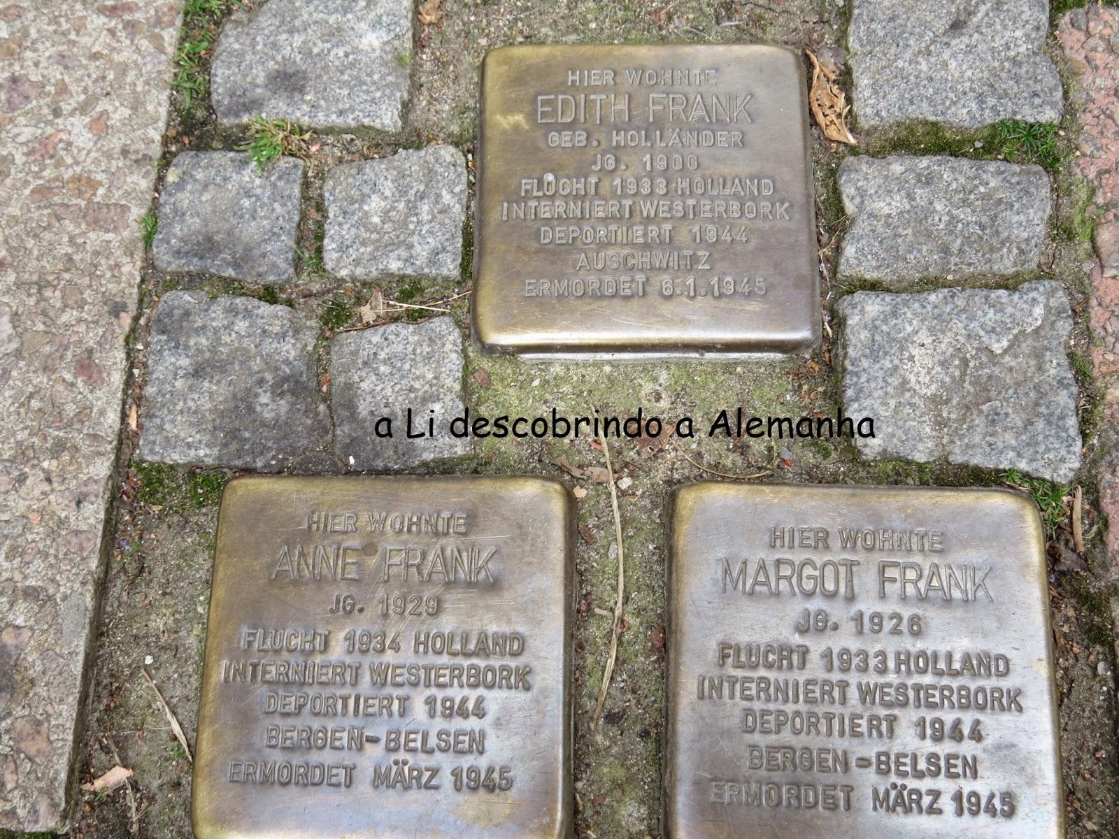 Anne Frank em Aachen