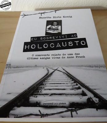 Livro Eu sobrevivi ao Holocausto
