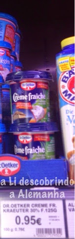 Creme de leite na Alemanha