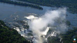 Passeio de helicóptero em Foz do Iguaçu