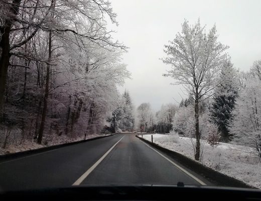 como dirigir no inverno na Europa