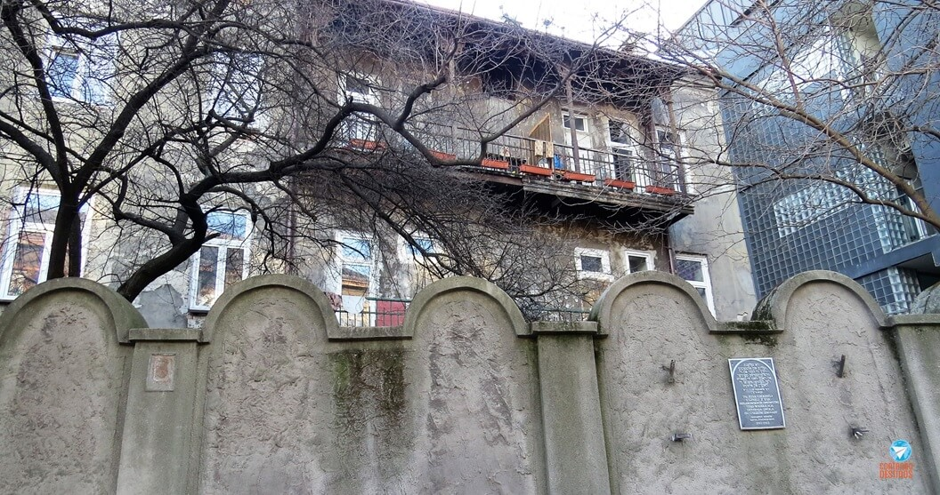 Muro do gueto de Cracóvia