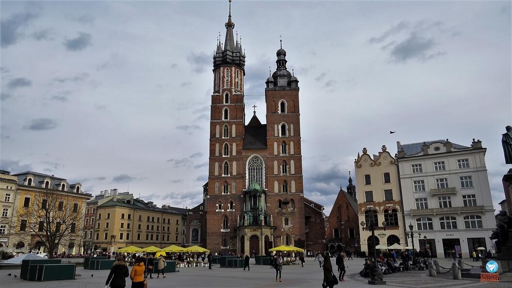 Quanto custa viajar para Cracóvia
