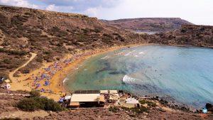 melhores praias Malta
