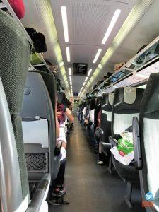 trem de Budapeste para Viena