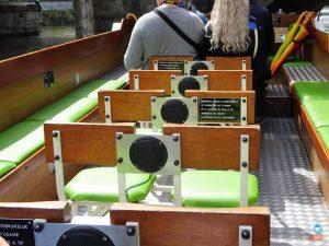 Passeio de barco em Gent