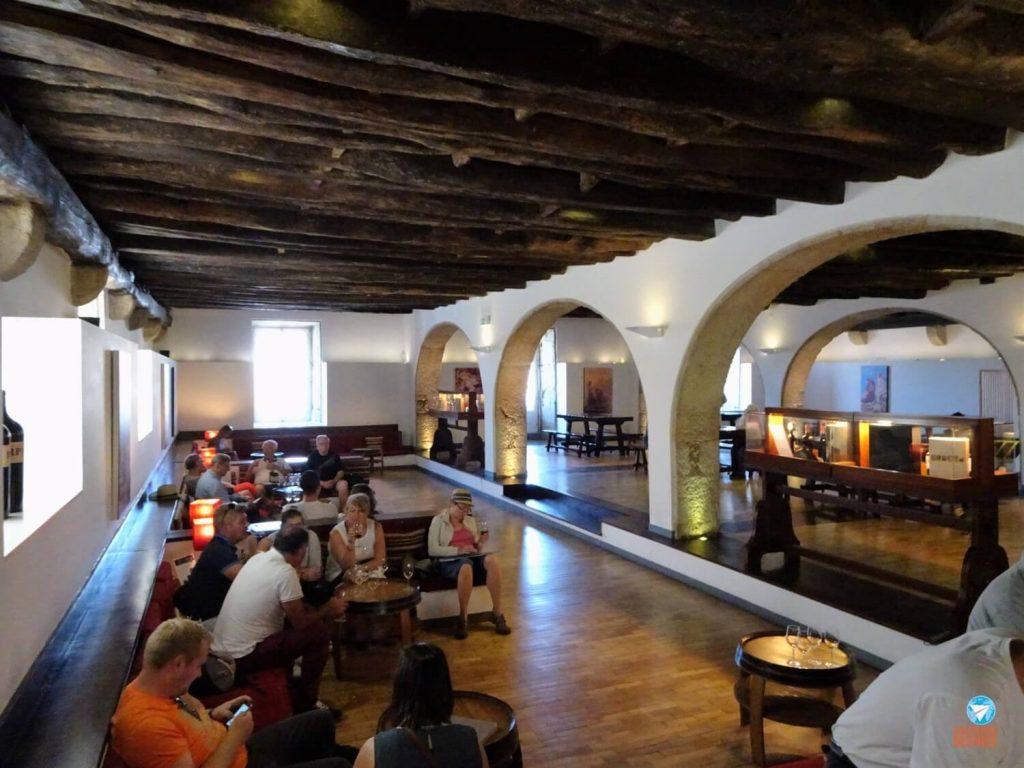 Cave de vinho do Porto
