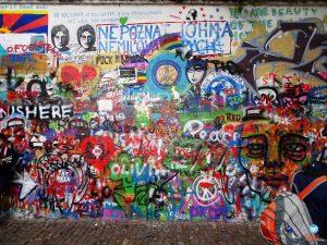 Muro John Lennon Praga