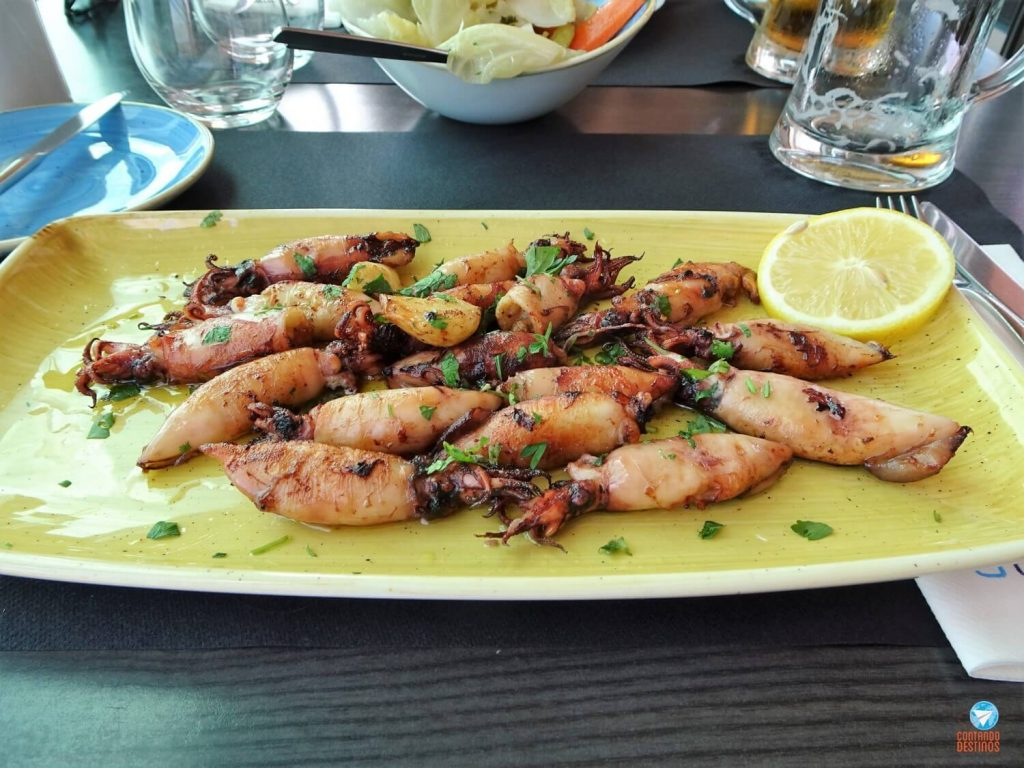 pratos para comer em Portugal
