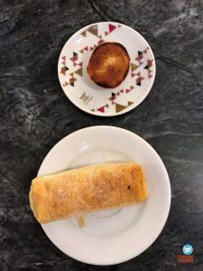 Travesseiro e queijada de Sintra