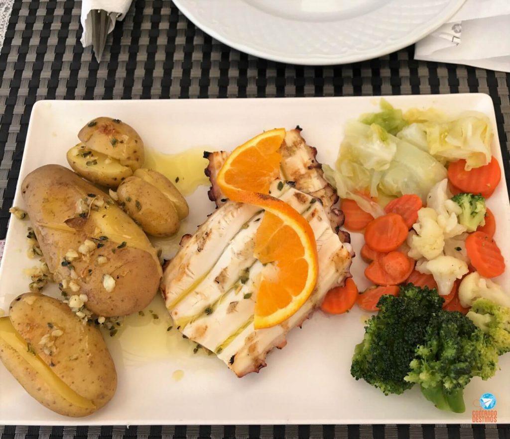Polvo a Lagareiro Porto - pratos para provar em Portugal