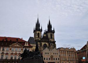 Igreja Nossa Senhora de Týn Praga