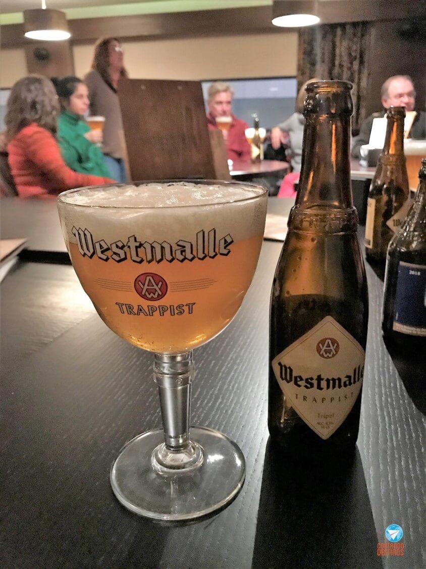 degustação de cervejas belgas