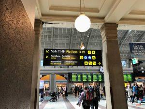 ir do aeroporto para o centro de Estocolmo