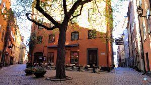 Gamla Stan pontos turísticos em Estocolmo