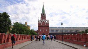 Entrada para o Kremlin