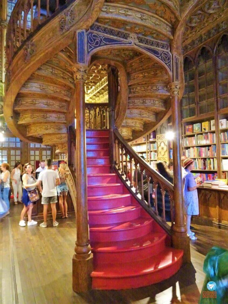 Livraria Lello Porto - Portugal
