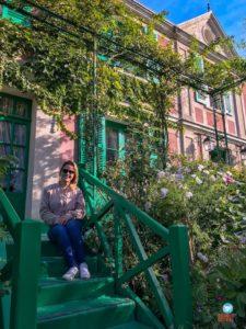 Jardins de Monet no outono