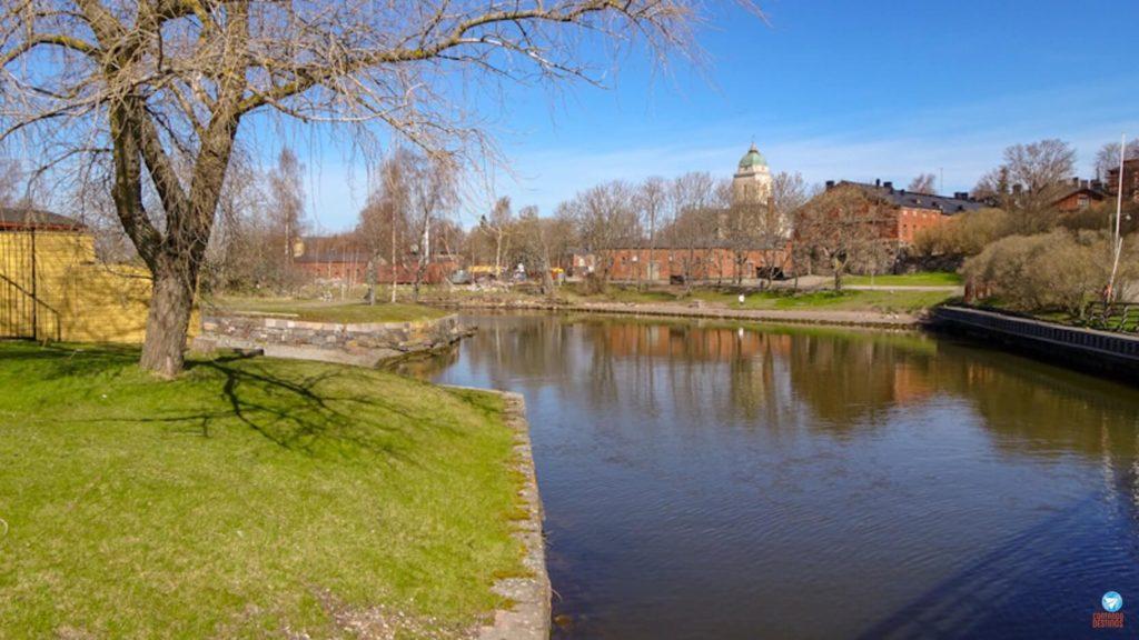 Fortaleza Suomenlinna Helsinque Finlândia
