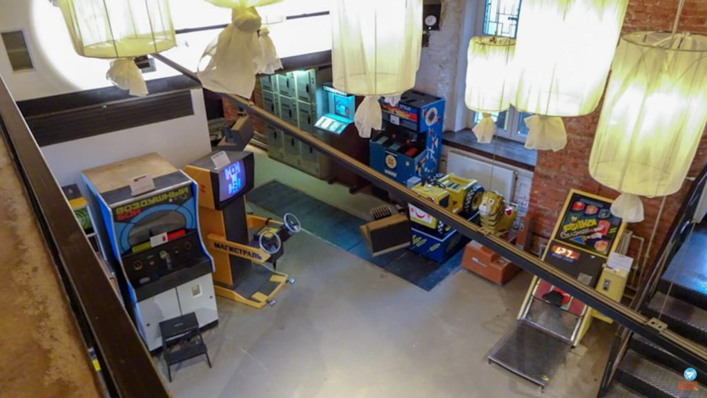 Museu do Arcade Soviético em São Petersburgo