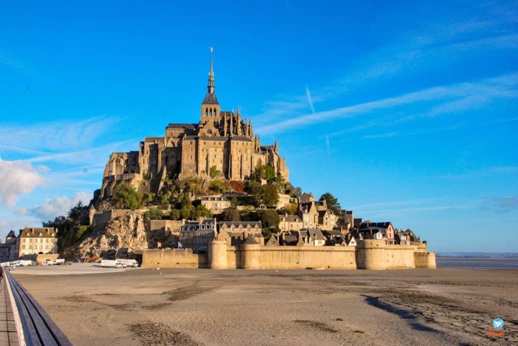 O que fazer em Caen - Monte Saint Michel