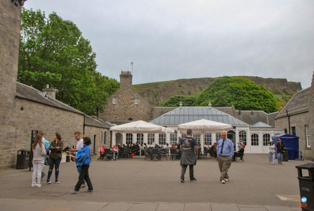 Palácio de Holyrood Edimburgo