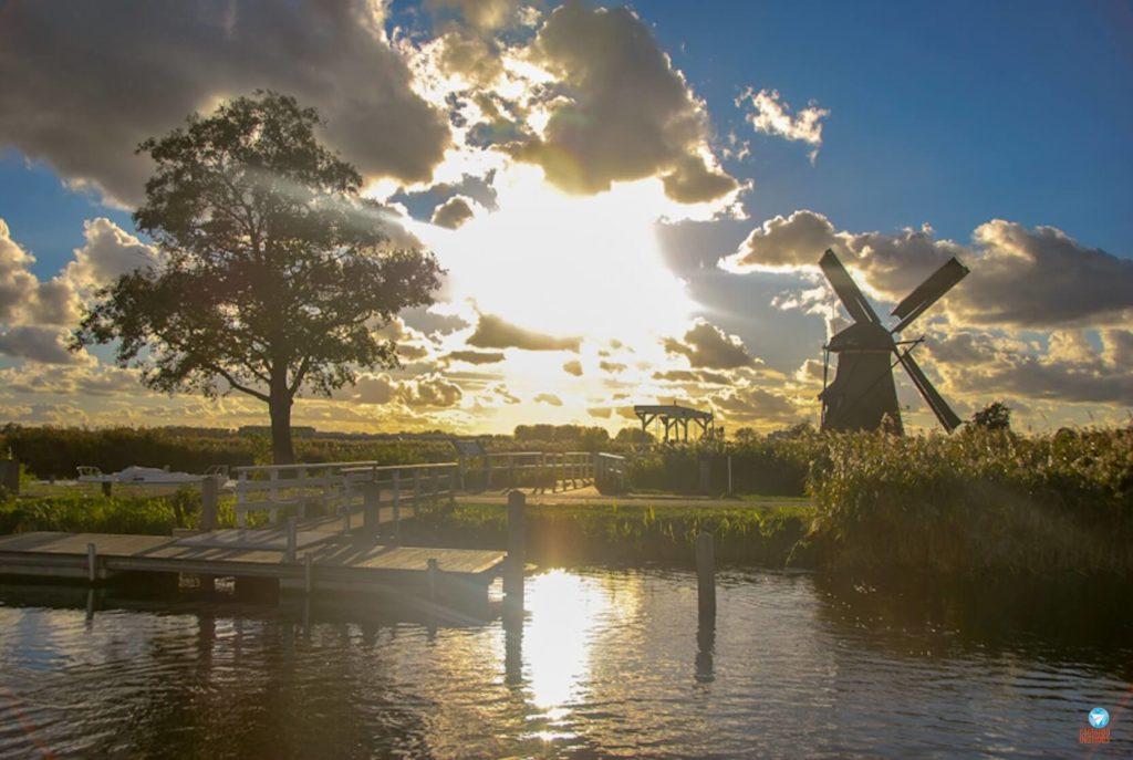 Kinderdijk - parque de moinhos de vento na Holanda