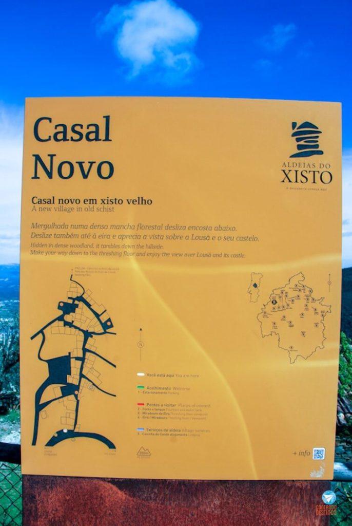 Aldeia Casal Novo Portugal