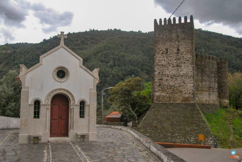 Castelo da Lousã em Portugal