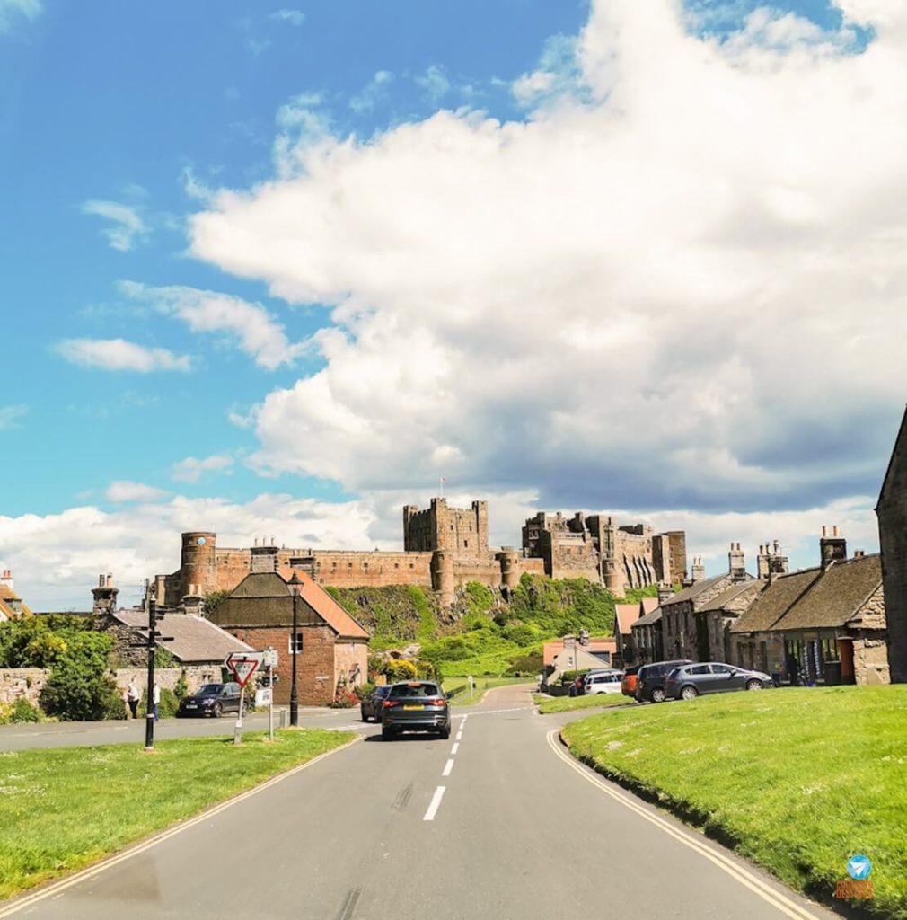 Chegada ao Castelo de Bamburgh