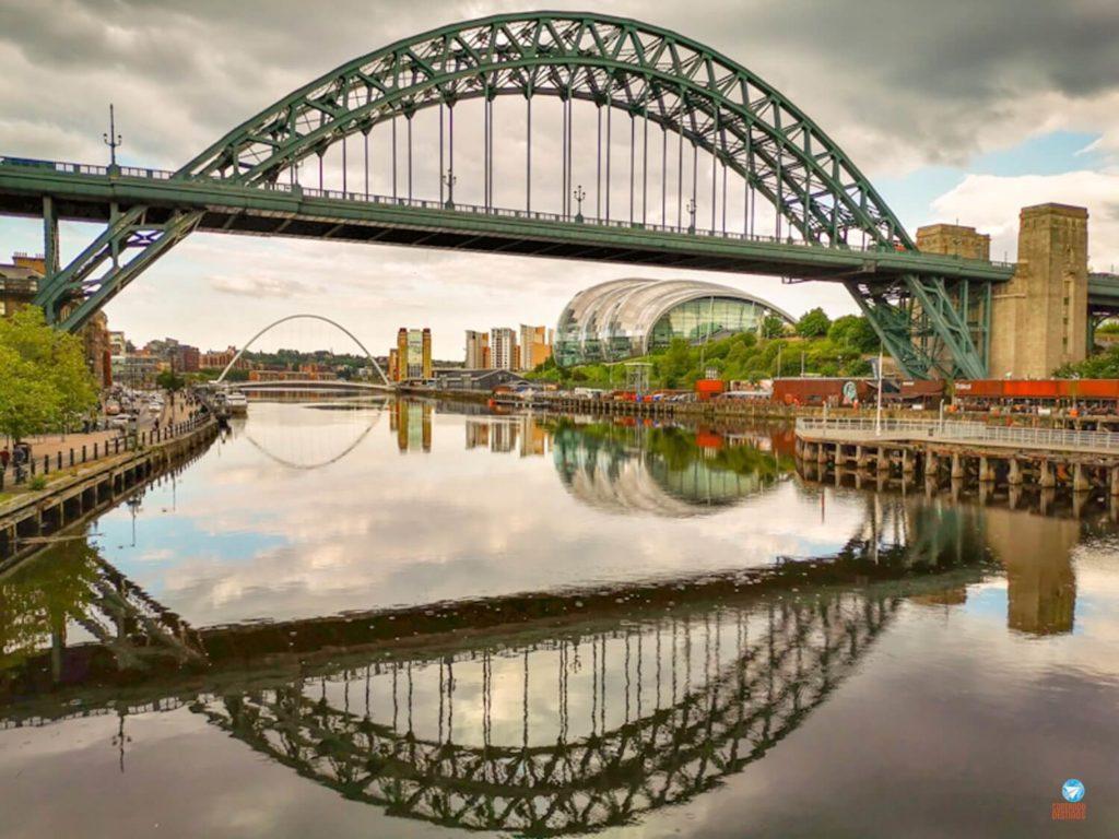 Ponte Tyne, Newcastle, Inglaterra