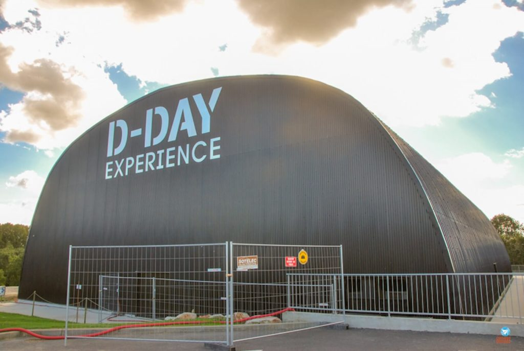 D-Day Experience Museum na Normandia, França
