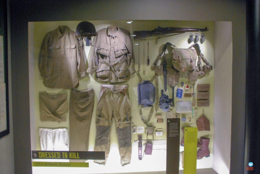Exposição do D-Day Experience Museum na Normandia
