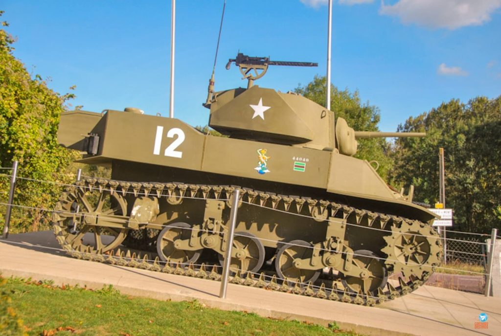 D-Day Experience Museum, na Normandia, França