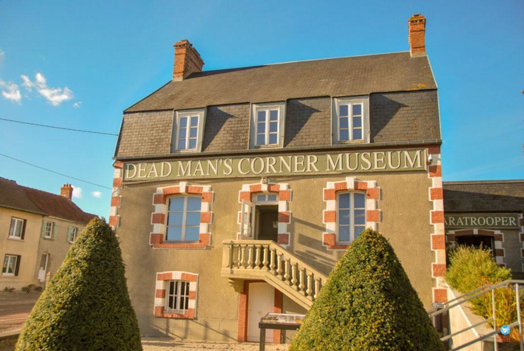Dead Man's Corner Museum, casa usada pelo comando alemão durante a guerra