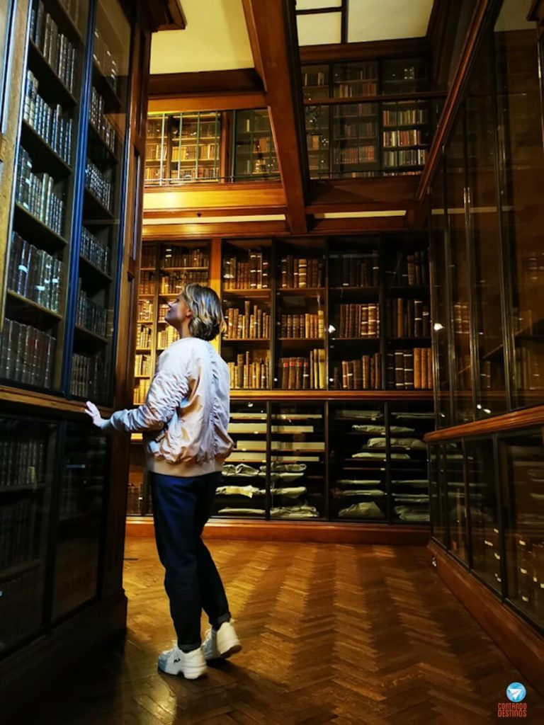 The John Rylands Library em Manchester, na Inglaterra