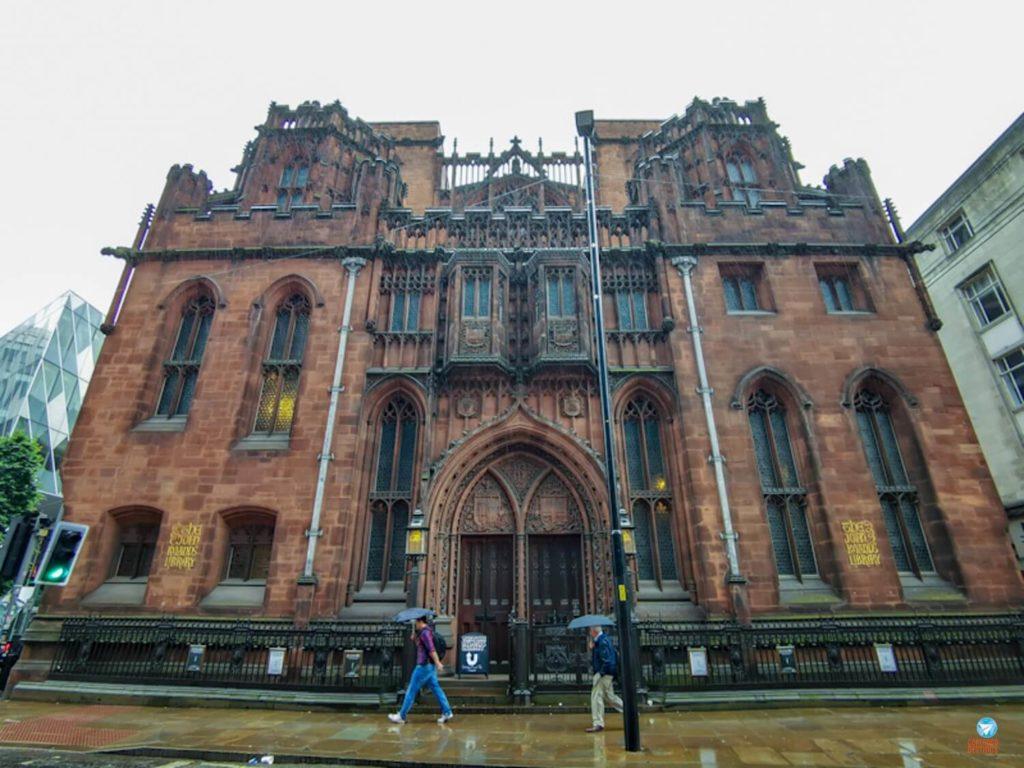 The John Rylands Library, linda biblioteca de Manchester