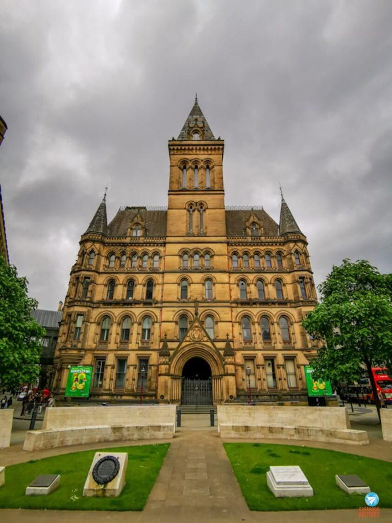 Town Hall de Manchester, na Inglaterra