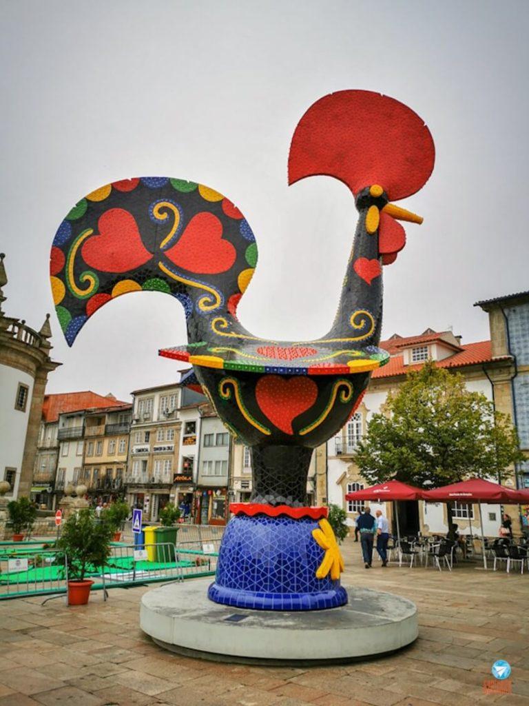 Galo de Barcelos em Portugal