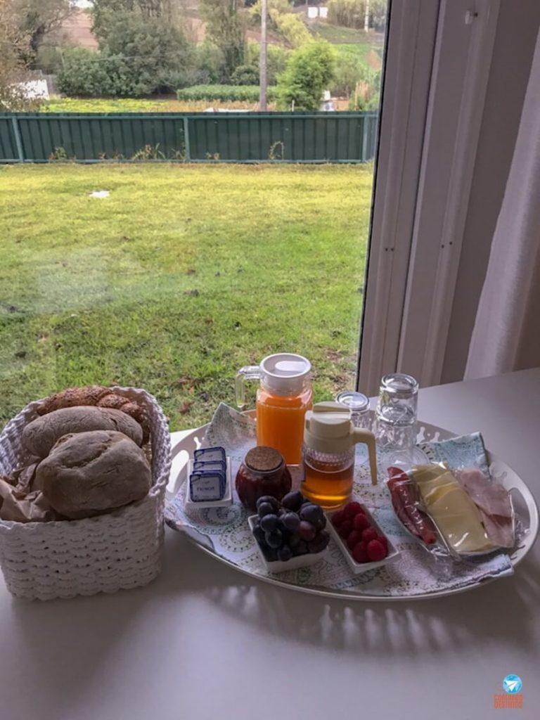 Café da manhã do Quintal do Freixo