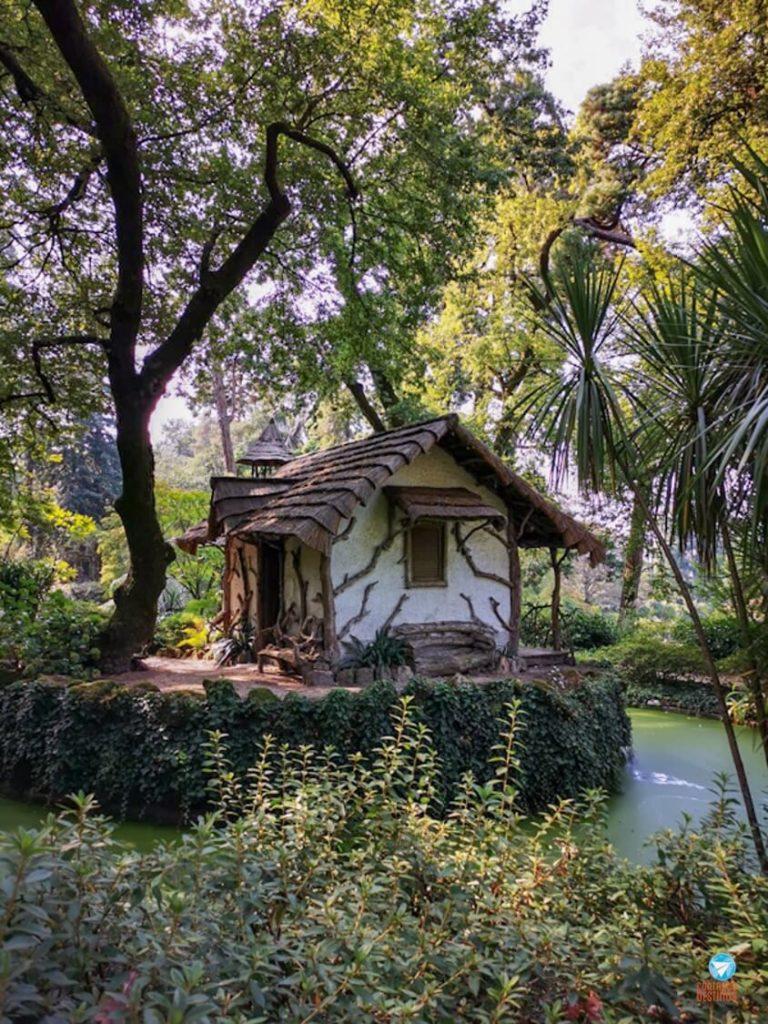 Casa de chá da Quinta da Aveleda em Portugal