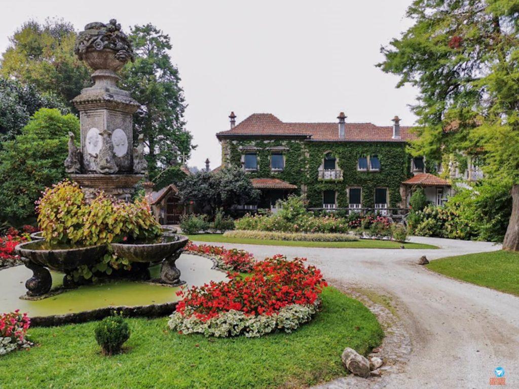 Casa principal da Quinta da Aveleda em Portugal