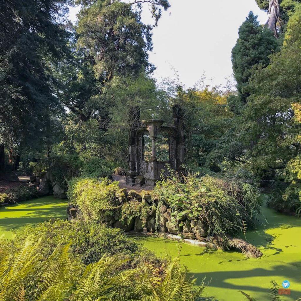 Jardins da Quinta da Aveleda em Portugal