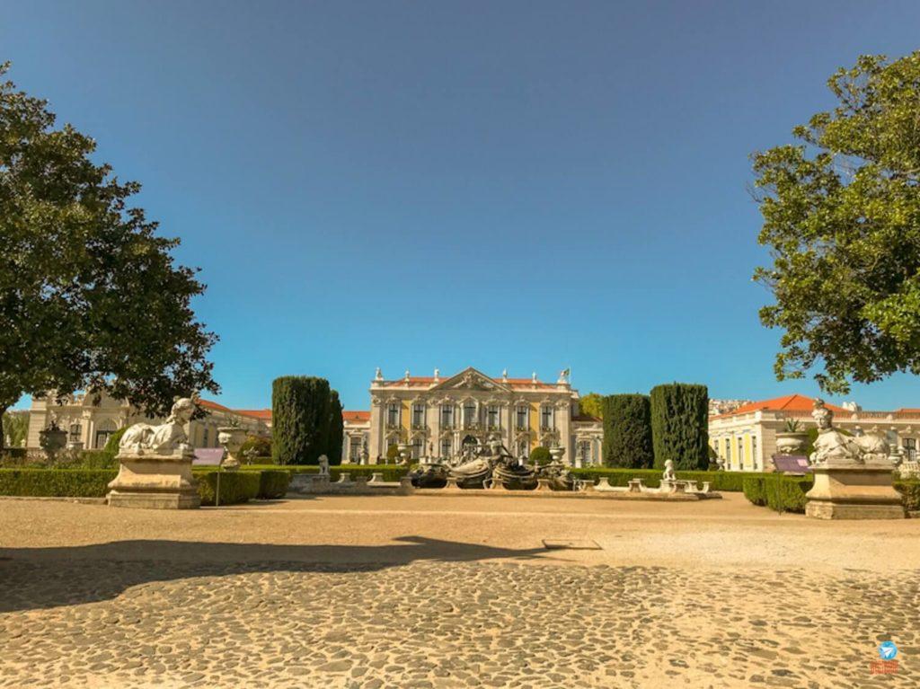 Palácio Nacional de Queluz em Portugal