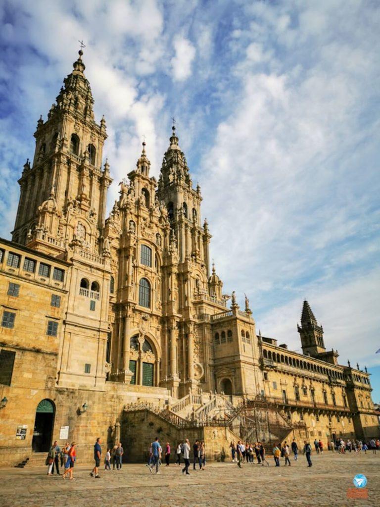 Santiago de Compostela na Galícia, Espanha