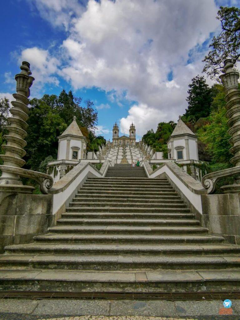 Santuário do Bom Jesus do Monte em Portugal