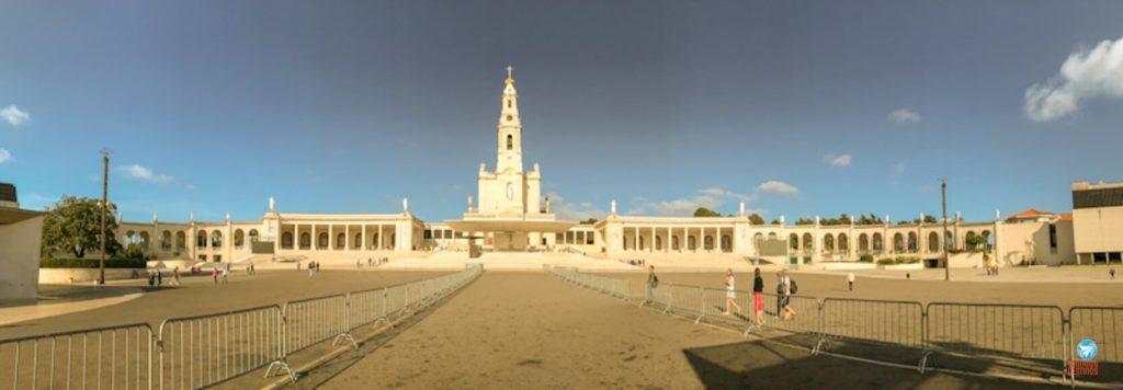 Santuário de Nossa Senhora de Fátima em Portugal