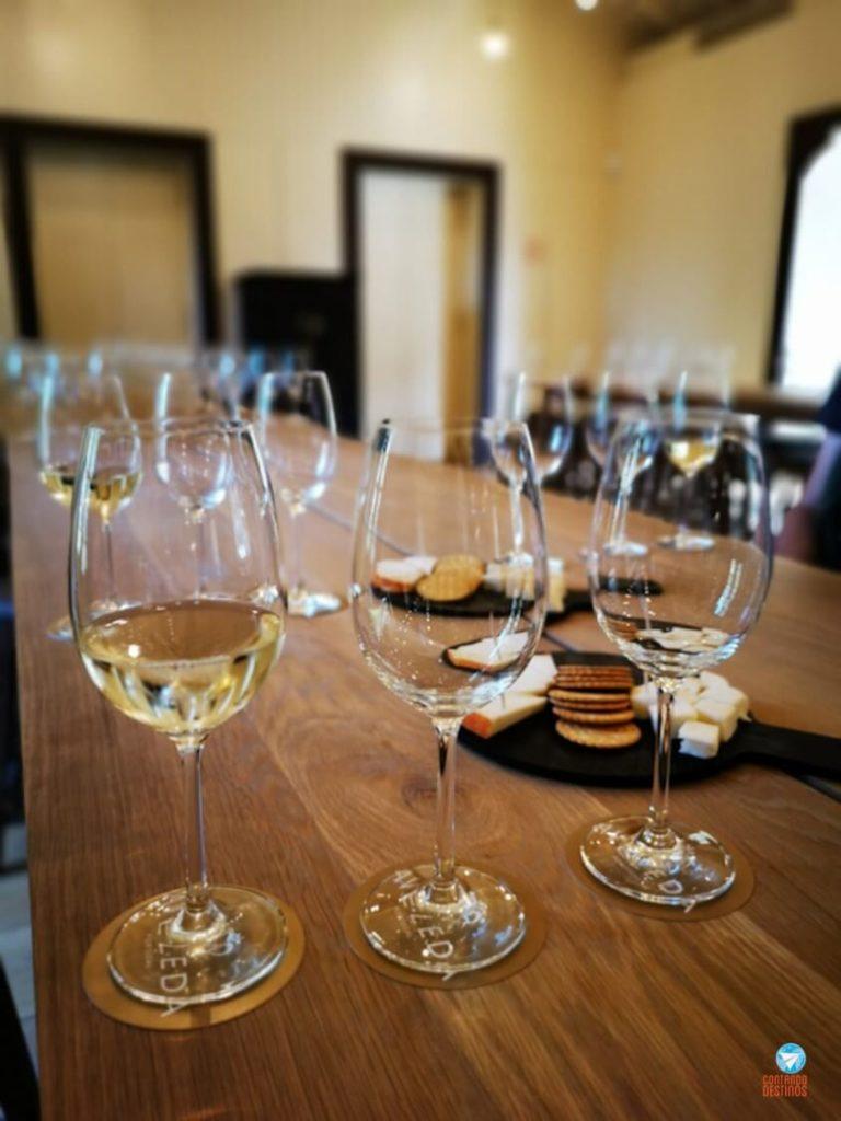 Vinho verde Quinta da Aveleda em Portugal