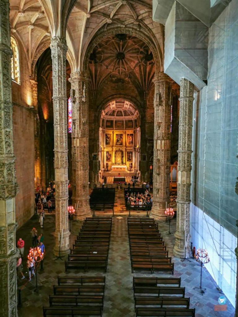 Igreja do Mosteiro dos Jerónimos, em Lisboa